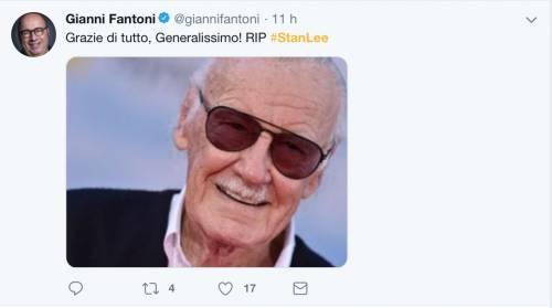 I vip salutano Stan Lee, foto 14