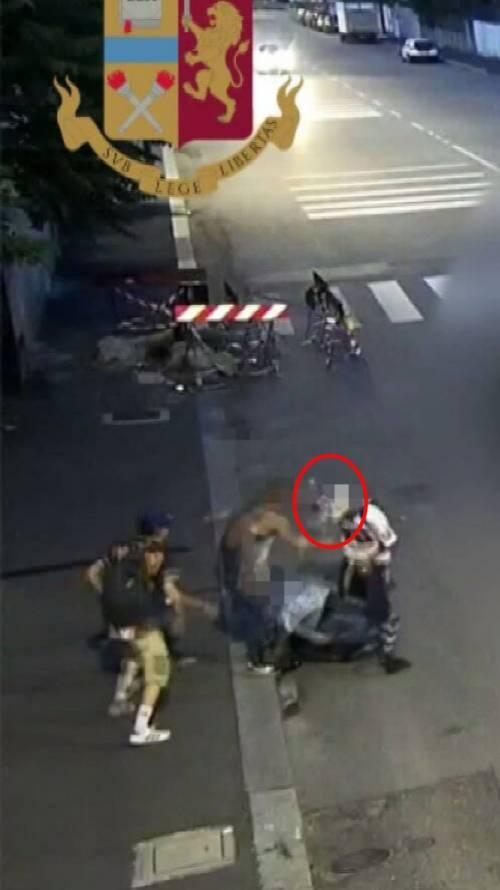 Aggressione a Milano 4