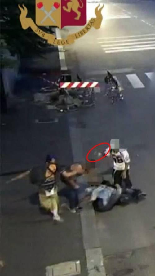 Aggressione a Milano 6