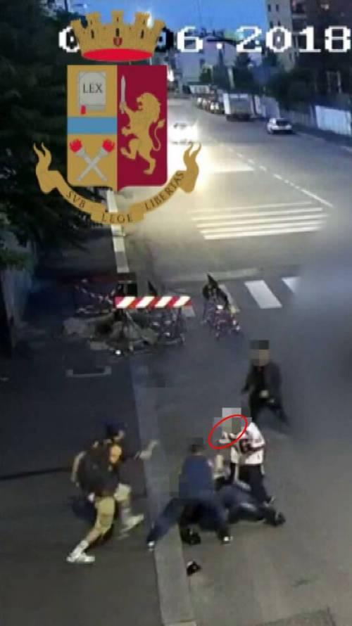 Aggressione a Milano 8