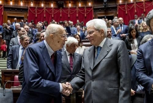 """Mattarella chiama Napolitano: """"Italiani riconoscenti per la sua presidenza"""""""