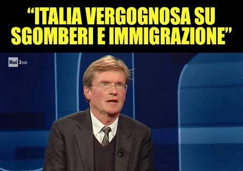 """""""Osa fare la morale agli italiani?"""". Salvini attacca Udo Gumpel: """"Maleducato"""""""
