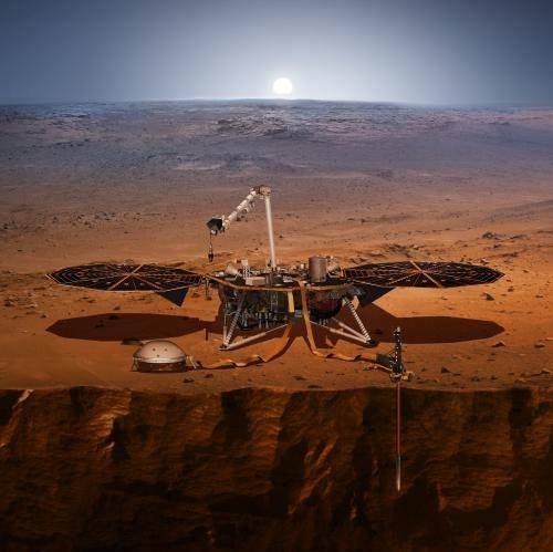 Nasa, sbarca su Marte la sonda InSight che studierà i terremoti