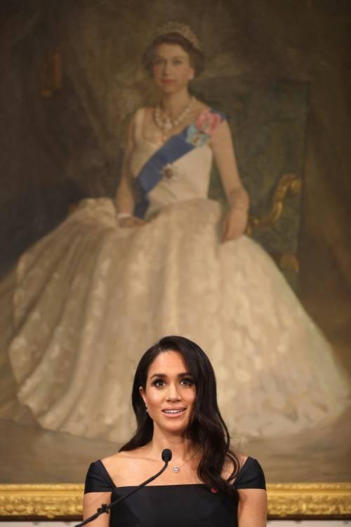 Meghan Markle, un anno nella Royal Family: foto 6