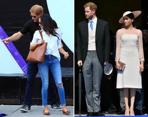 Meghan Markle, un anno nella Royal Family: foto 3