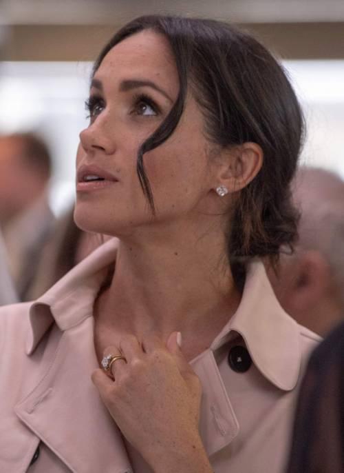 Meghan Markle, un anno nella Royal Family: foto 4