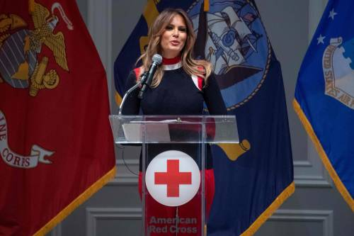 Melania Trump, le immagini più belle 7