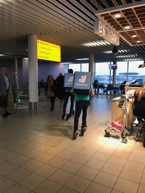 Autogrill all'aeroporto Amsterdam Schiphol 5
