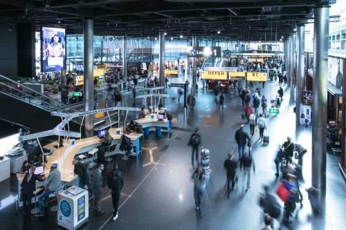 Autogrill all'aeroporto Amsterdam Schiphol 1