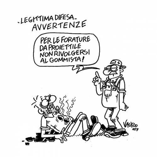 La vignetta di Vauro sul gommista Pacini fa infuriare il web