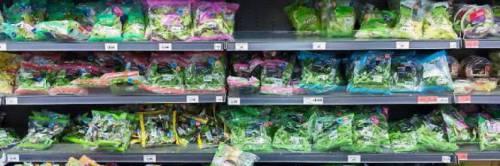 L'insalata in busta può contenere batteri: in realtà è una bufala