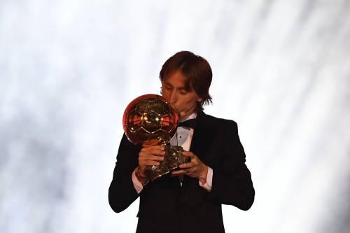 Pallone d'Oro 2018: Modric trionfa davanti a CR7 e Griezmann