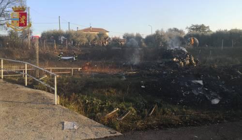 Esplosione sulla Salaria, ecco cosa resta del distributore gpl 4