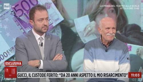 Storie Italiane, lady Gucci vive con 400 euro al mese ma sventola banconote da 500 euro