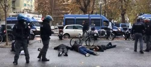 Lazio-Eintracht, scontri vicino lo stadio Olimpico. Polizia ferma 5 tedeschi