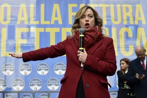 Meloni a Renzi: I grandi evasori sono amici della sinistra