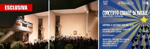"""Il concerto di Natale interculturale. E in chiesa intonano """"Bella ciao"""""""