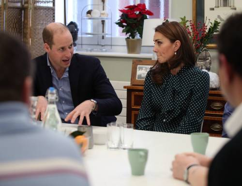 Kate Middleton e il Principe William con i bimbi in ospedale: foto 2