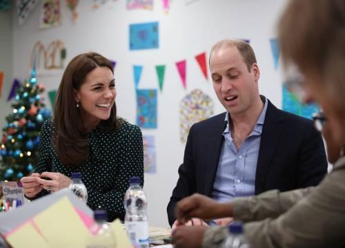 Kate Middleton e il Principe William con i bimbi in ospedale: foto 9