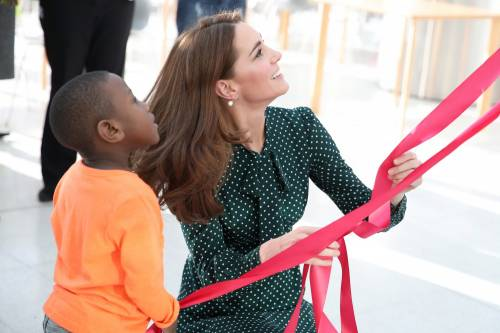 Kate Middleton e il Principe William con i bimbi in ospedale: foto 6