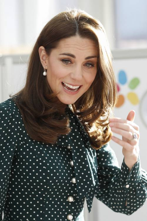 Kate Middleton e il Principe William con i bimbi in ospedale: foto 7