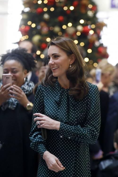 Kate Middleton e il Principe William con i bimbi in ospedale: foto 8