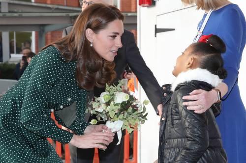 Kate Middleton e il Principe William con i bimbi in ospedale: foto 10