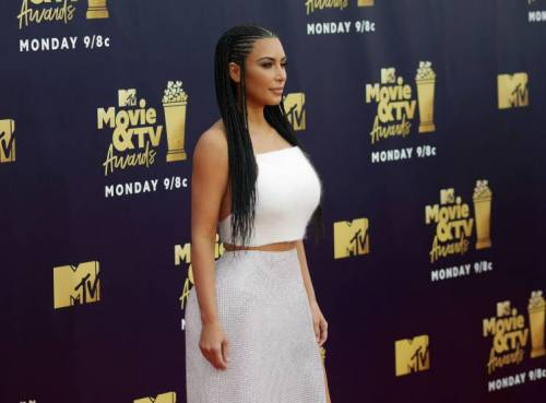 Kim Kardashian semi-nuda su Instagram: foto 4