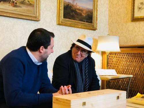 Salvini incontra Al Bano 3
