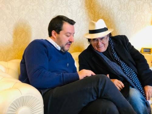 Salvini incontra Al Bano 4