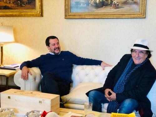 Salvini incontra Al Bano 5