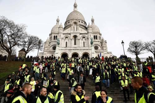 Montmartre, Caen, Ventimiglia: ancora proteste dei gilet gialli 2