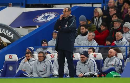 """Chelsea, la stampa inglese critica Sarri: """"Noia-ball"""""""
