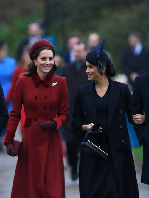 Meghan Markle e Kate Middleton sorridenti insieme: foto 6