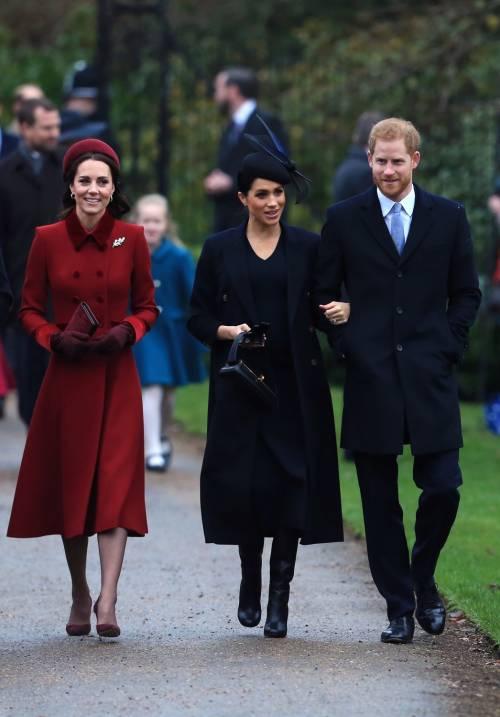 Meghan Markle e Kate Middleton sorridenti insieme: foto 9