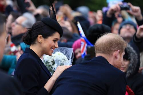 Meghan Markle e Kate Middleton sorridenti insieme: foto 1