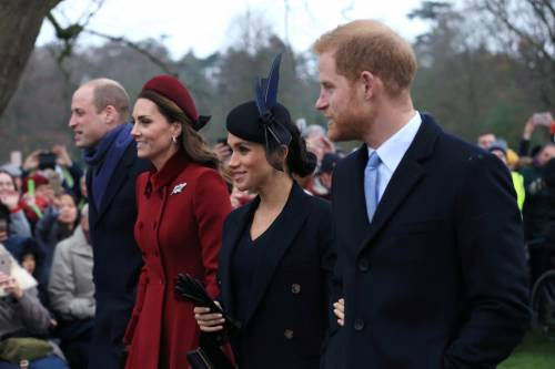 Meghan Markle e Kate Middleton sorridenti insieme: foto 4