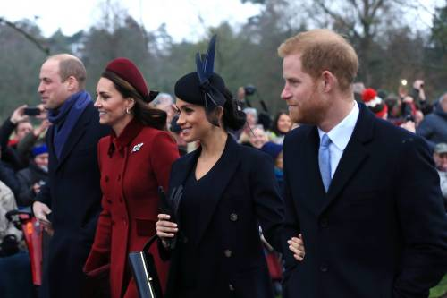 Meghan Markle e Kate Middleton sorridenti insieme: foto 2