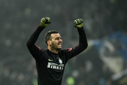 """Inter, Handanovic a rischio derby: """"Infrazione del quinto dito della mano sinistra"""""""