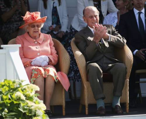 Kate Middleton e la Regina Elisabetta II, foto 1