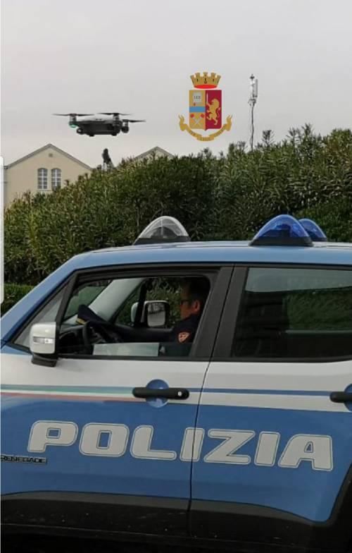 Campania, i controlli della Polfer con il drone 2