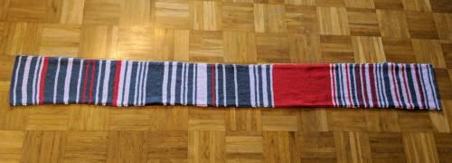 Ad ogni ritardo del treno allunga la sciarpa: battuta all'asta per 7550 euro