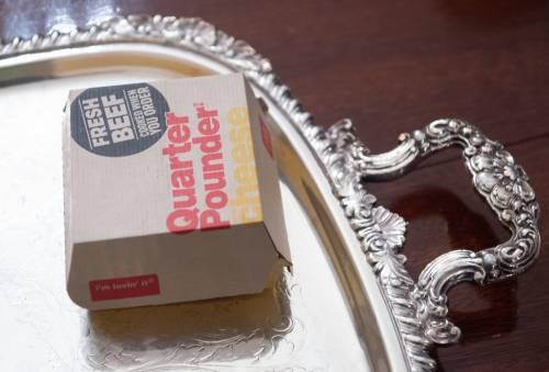 Donald Trump e la cena fast food 6