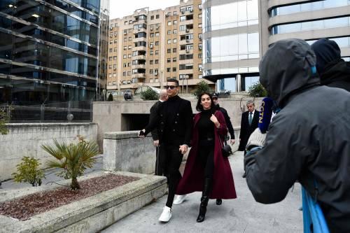 Cristiano Ronaldo e Georgina Rodriguez a Madrid: ecco gli scatti della coppia 6