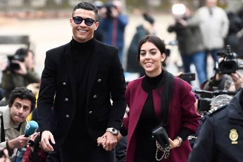 Cristiano Ronaldo e Georgina Rodriguez a Madrid: ecco gli scatti della coppia 2