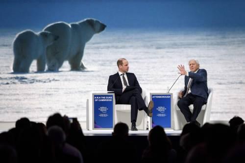 Il Principe William al World Economic Forum 5