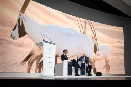 Il Principe William al World Economic Forum 9