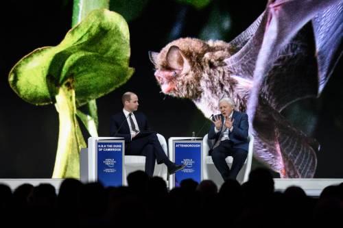 Il Principe William al World Economic Forum 12