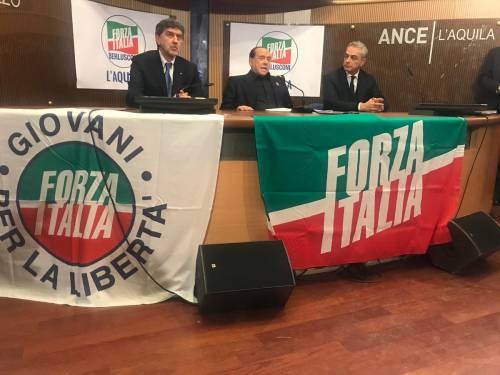 """Berlusconi: """"Servirà una correzione, faranno la patrimoniale"""""""
