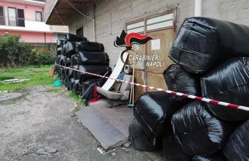 Rifiuti abbandonati, nei guai imprenditore cinese